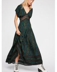 Free People - Prairie Flower Maxi Dress - Lyst