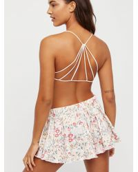 Free People - Strappy Back Bra - Lyst