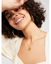 Free People - Ascending Medallion Necklace - Lyst
