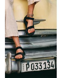 Free People Original Universal Teva Sandals - Black
