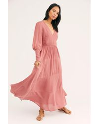 Free People Wednesday Maxi By Endless Summer - Pink
