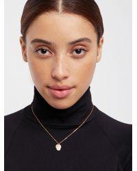 Free People - 14k Vermeil Vintage Charm Necklace By Erth Jewellery - Lyst