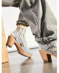 Free People Abby Clog - Multicolor