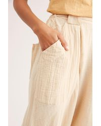 Free People Major Crush Harem Trousers By Endless Summer - Natural