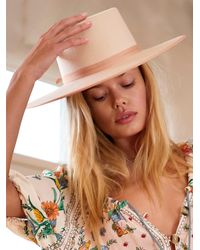 Free People Rancher Boater By Lack Of Colour - White