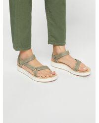 Free People Midform Universal Geometric Teva Sandal - Multicolour