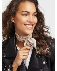 Free People | Accessories That's A Wrap Printed Neck Tie | Lyst