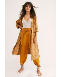 Free People With Open Arms Duster - Multicolor