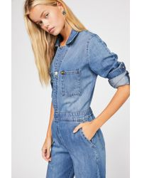Free People - Lee Union Coverall - Lyst