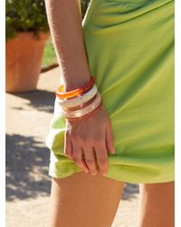 Free People Stack It Up Bangle Set - Multicolor