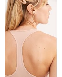 Free People Seamless Racerback Slip By Intimately - Chemise - Natural