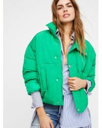 Free People - Cold Rush Puffer Coat - Lyst