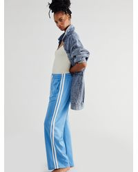 Free People The Fawcett Track Pant - Blue