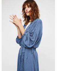 Free People Talkin' About A Trench - Blue