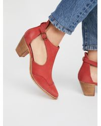 Free People - Coyote Crossing Ankle Boot - Lyst