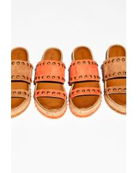 Free People - Lola Flatform Sandal By Inuovo - Lyst