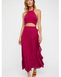 Free People - Bring On The Heat Maxi Dress - Lyst