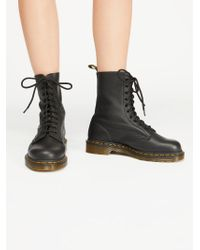 Free People - Dr. Martens 1490 10 Eye Lace-up Boot - Lyst