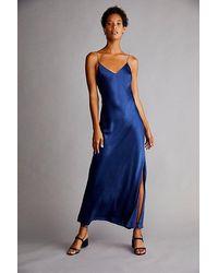 DANNIJO Crystal Strap Dress - Blue