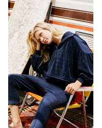 Free People Let It Go Sweat By Fp Movement - Blue