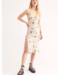 Free People - Wildflower Midi Dress By Sun Becomes Her - Lyst