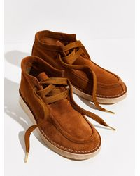 Free People Ashton Ankle Boots - Brown