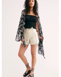 Free People Fp One Penny Shorts - Multicolour