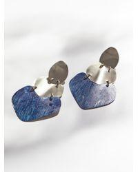 Free People - Patina Plate Earrings - Lyst