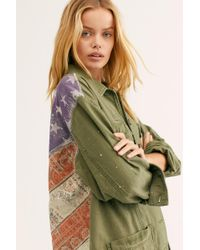 84e58e443 Spruce Military Shirt Jacket By We The Free - Green