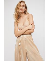 Free People - Whisper Crop Bra By Only Hearts - Lyst