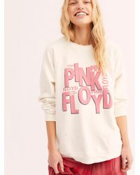 Free People - Pink Floyd Sweatshirt - Lyst
