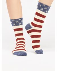 Free People - Star Crew Sock - Lyst