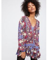 Free People - Lovely Dreams Print Tunic - Lyst