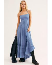 Free People - Extratropical Shiny Dress - Lyst