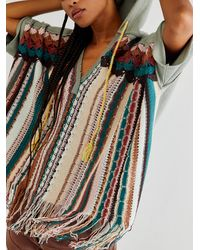 Free People Outward Bound Poncho - Multicolour