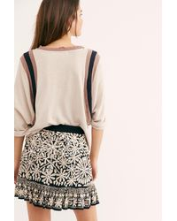 Free People Listen To The Music Skirt - Black
