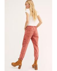 Free People Platoon Pant By We The Free - Red