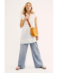 Free People - River Linen Tunic By Cp Shades - Lyst