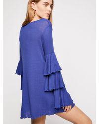 Free People - Seashore Mini Dress - Lyst