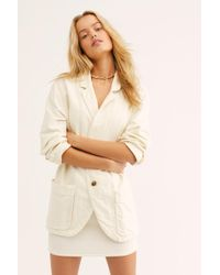 Free People Simply Perfect Blazer - White