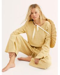 Free People Cuddle Up Set By Endless Summer - Multicolour