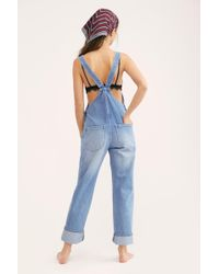 Free People - Rolla's Trade Overalls By Rolla's - Lyst