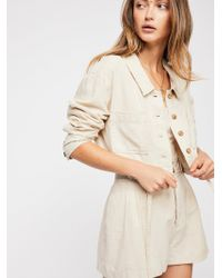 Free People Everly Suit - Natural