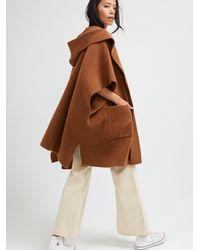 Free People All I Need Cozy Hooded Kimono - Brown