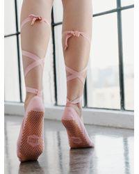 Free People - Lucky Honey Grip Sock - Lyst