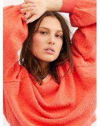 Free People Found My Friend Sweatshirt - Multicolour