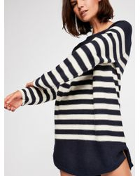 Free People Renegade Tunic By Fp Beach - Blue