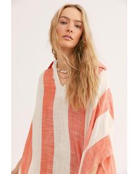 Free People Shore Thing Stripe Kaftan - Multicolour