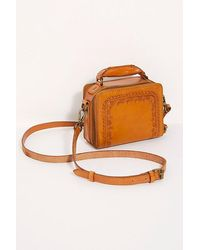 Free People Ace Tooled Crossbody By Cut N Paste - Multicolour