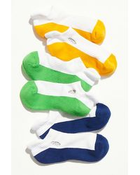 Fp Movement Movement Trainer Sock Color-block 3-pack - Green
